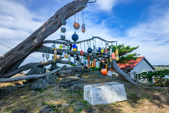 Floats at Battery Point Lighthouse at Crescent City-01 8-20-19-1