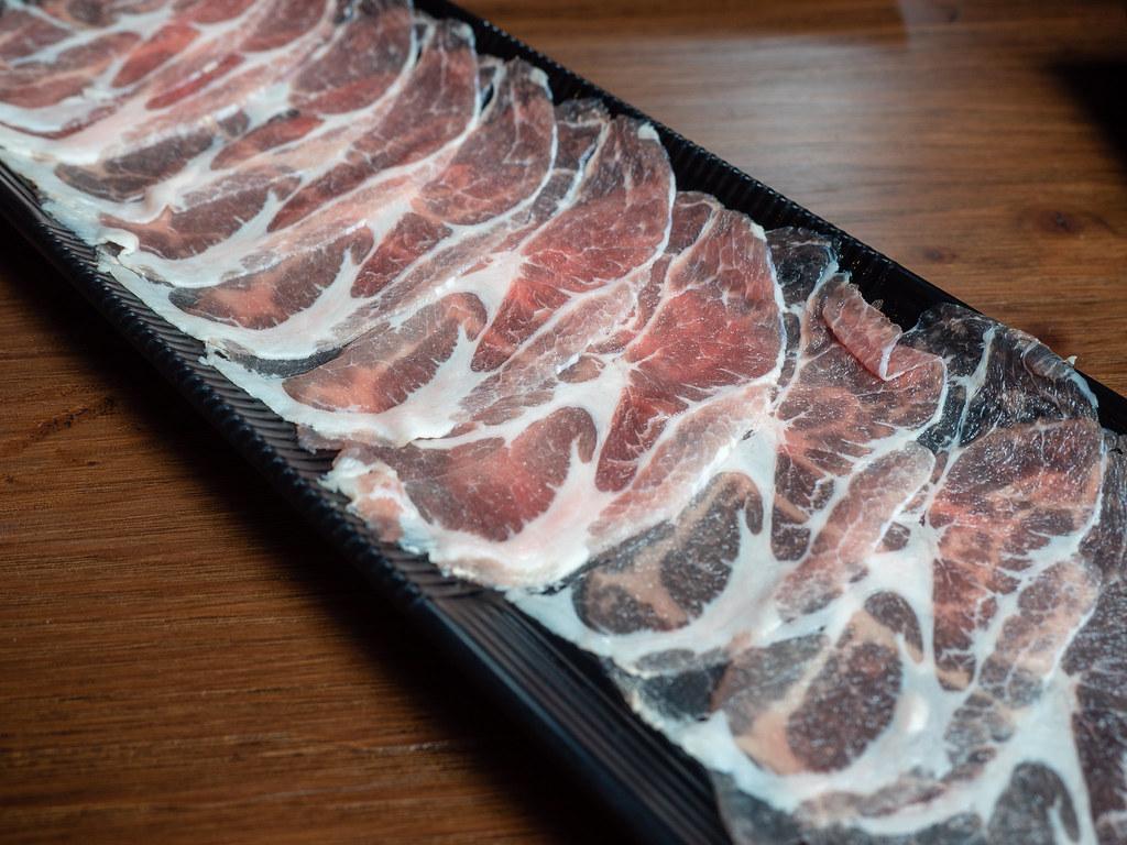 PoPo Hot Pot SS2's sliced pork