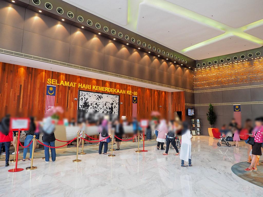 Huge Hotel Lobby at Lexis Hibiscus Port Dickson, Negeri Sembilan.