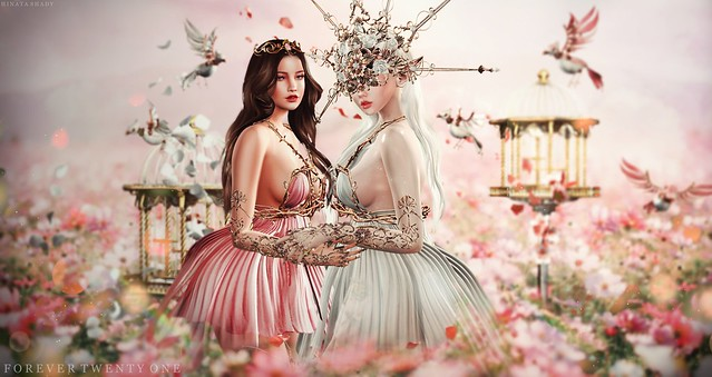 New Post: ∞Forever Twenty One∞ LOTD 737 Flower Blossom...