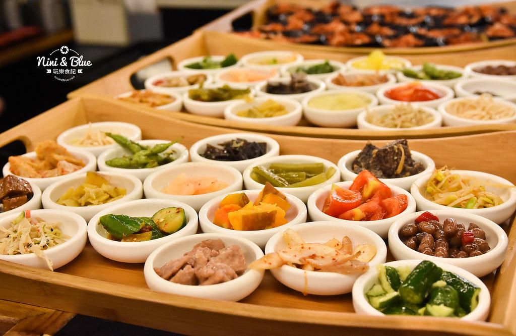 韓鄉 彰化 吃到飽 韓式料理 菜單06
