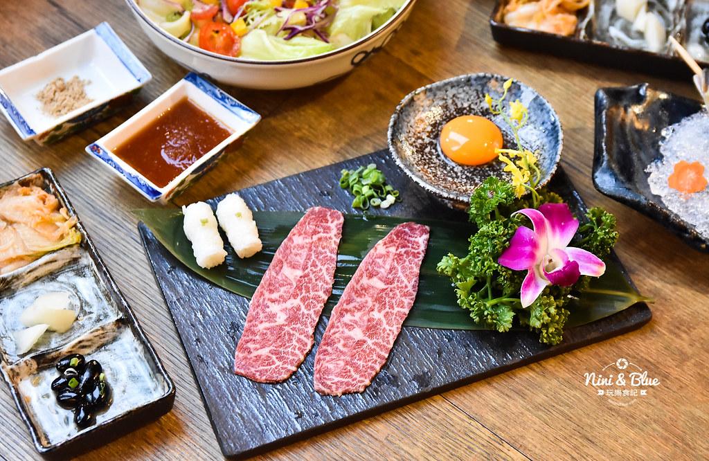 台中燒肉 締藏和牛燒肉菜單