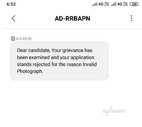 Final RRB Group D Application Status 2019 Declared via Email and SMS; No Link Available To Check Status