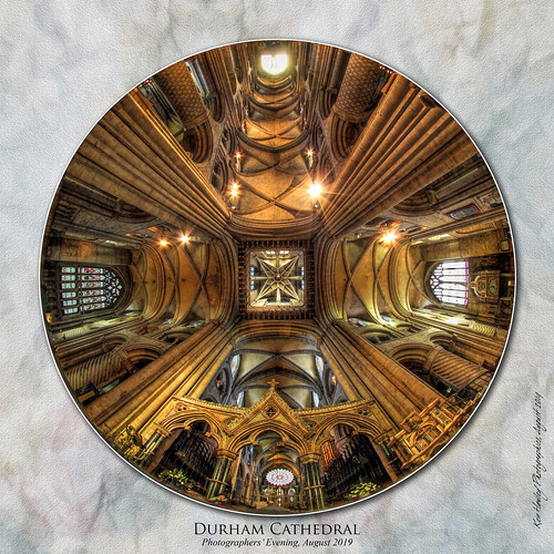 durhamcathedral sigma8mmfisheyelens canoneos5dii summer2019 august2019 topazstudio kenhawley churches cathedrals churchinteriors uppies inexplore