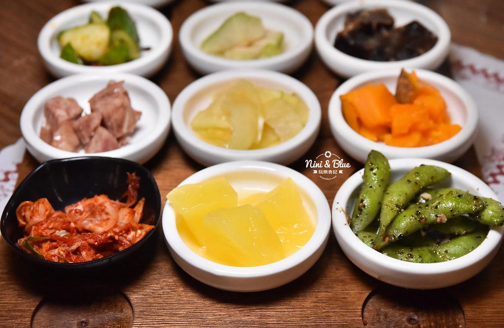 韓鄉 彰化 吃到飽 韓式料理 菜單08