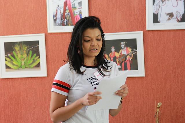 Embaixada de Trinidad e Tobago recebe estudantes do Gama