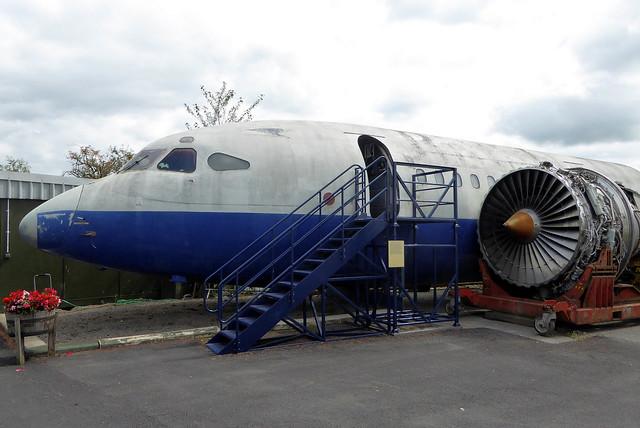 G-AWZJ Hawker Siddeley HS.121 Trident 3B cn 2311 British Airways Dumfries & Galloway Aviation Museum 02Aug19