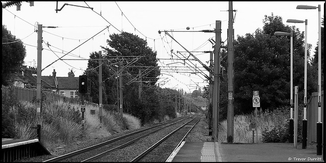Southend East Station Looking East From Platform One P7050009