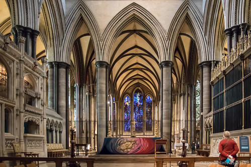 The High Altar at Salisbury  Cathedral [Explore #213]