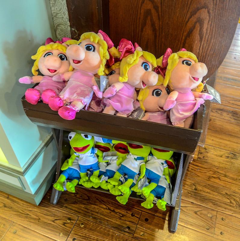 Kermit Piggy muppet babies MK