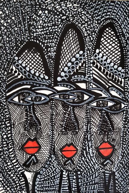 אמנות לטינית דרום אמריקאית מודרנית  מירית בן נון ציירת ישראלית