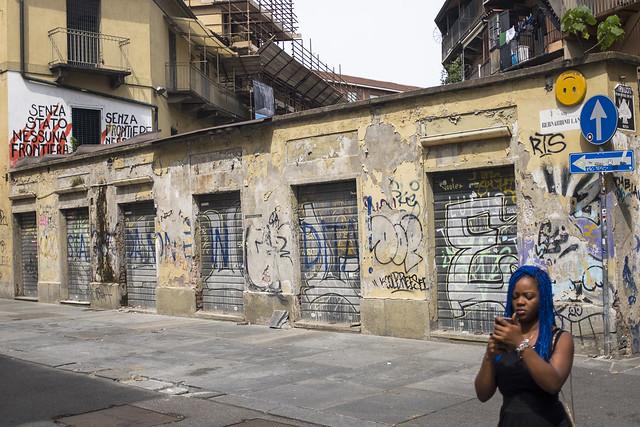 Liberated Torino. Balon, August 2019.