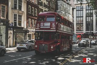 Old Tea Bus in London.