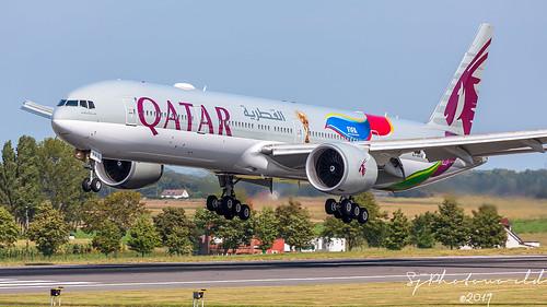 Qatar Airways Boeing B777-3 A7-BAX