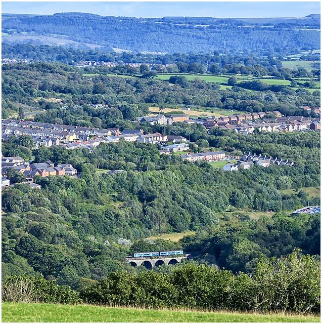Sprinting down the Rhymney valley