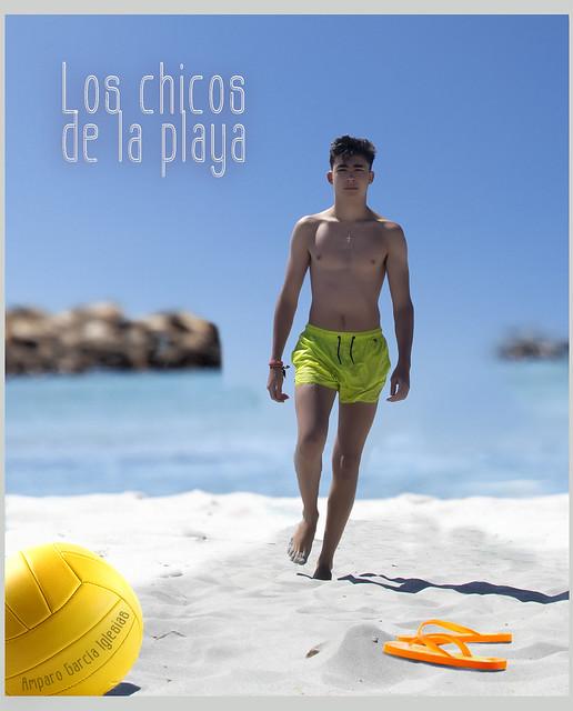 Los chicos de la playa - Amparo García Iglesias