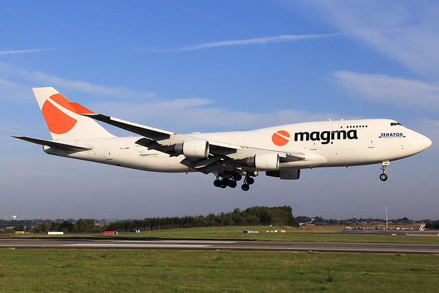 Magma Aviation (Air Atlanta Icelandic)  Boeing 747-412(BCF) TF-AMI