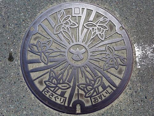 Sasaguri Fukuoka, manhole cover (福岡県篠栗町のマンホール)
