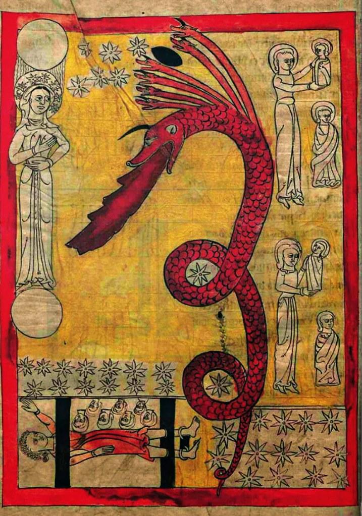 Imagem IX - Um fólio do Comentário ao Apocalipse do Mosteiro de Lorvão