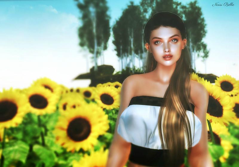 """""""A sunflower field is like a sky with a thousand suns."""