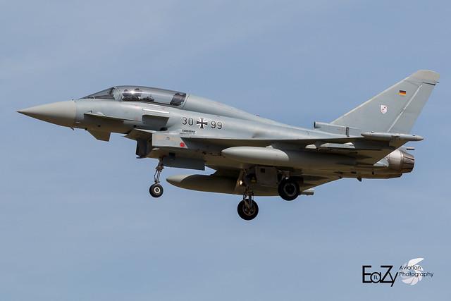 30+99 German Air Force (Luftwaffe) Eurofighter Typhoon