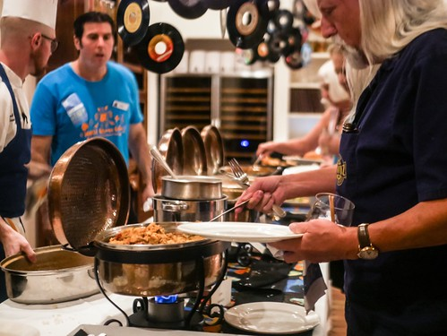 Food by Dickie Brennan & Co. at the Groove Gala - Sep. 5, 2019. Photo by Katherine Johnson.