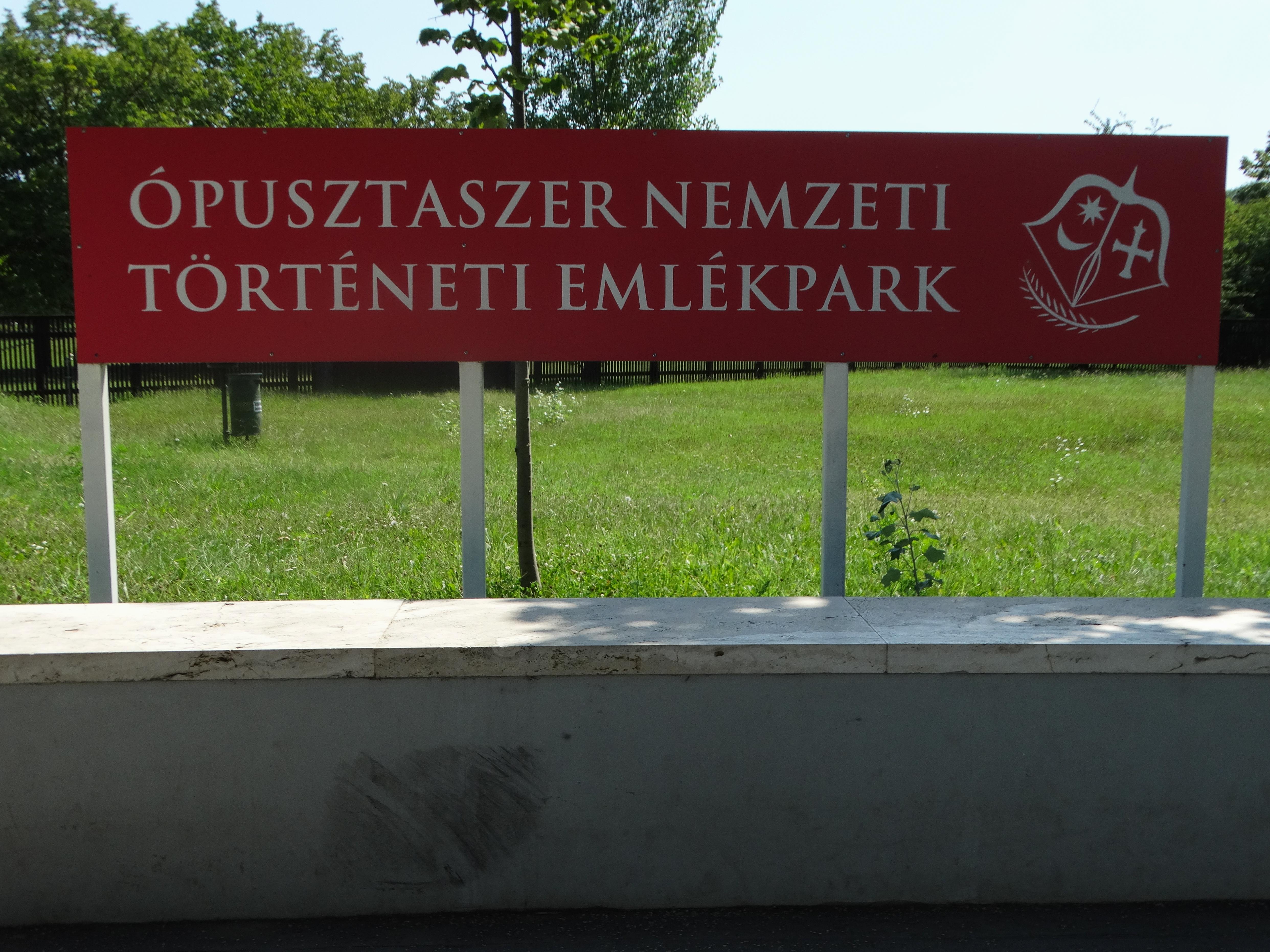 2019.08.16.: Nemzeti Történeti Emlékpark