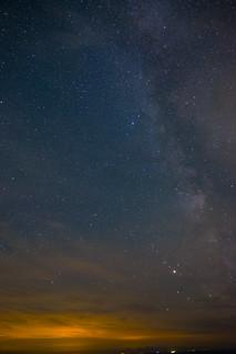 Milky Way over Birling Gap