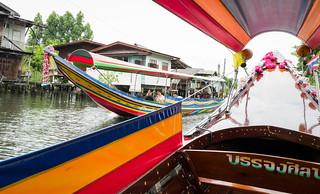 Chaophraya Longboat trip - Bangkok - Thailand