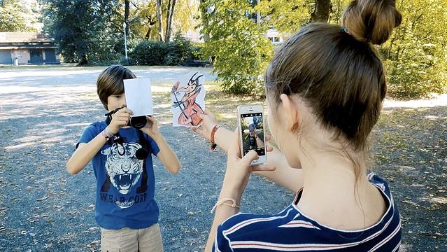 Développement de la Créativité: Ateliers Pencil Vs Camera par Ben Heine - Bibliothèque Provinciale