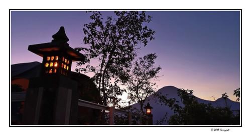 harrypwt indonesia java centraljava dieng wonosobo banjarnegara bukitcinta menjer night light landscape huaweip20pro p20pro smartphone borders framed sunrise