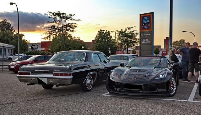 Chevrolet Impale und Corvette