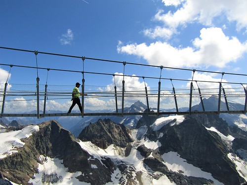 Titlis Cliff Walk: Europe's Highest Suspension Bridge