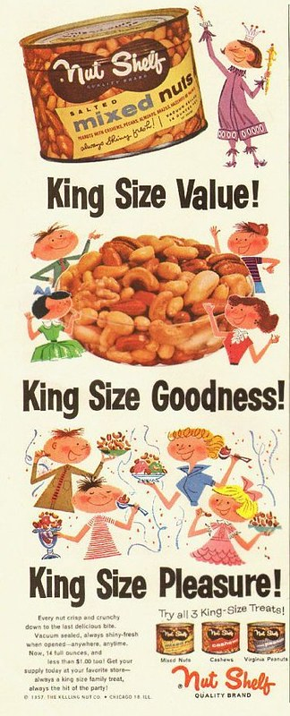 Nut Shelf 1957