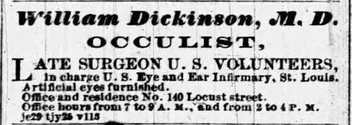 dr. William Dickinson ad St. Louis Globe-Democrat 7_4_1865_2