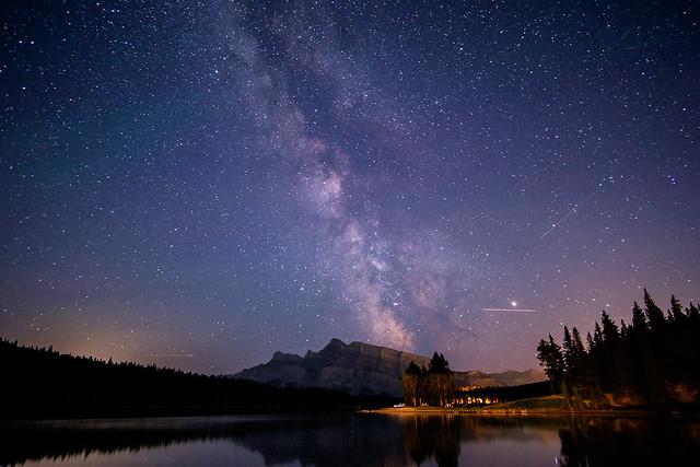 Milky Way - Two Jack Lake-2