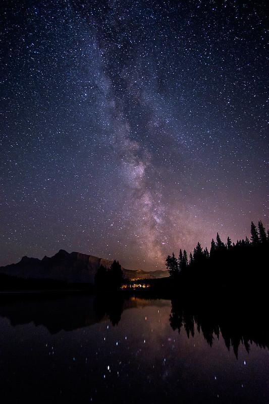 Milky Way - Two Jack Lake-1