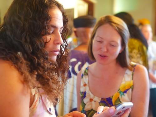 Jennifer and Melanie Merz at the Groove Gala - Sep. 5, 2019. Photo by Katherine Johnson.