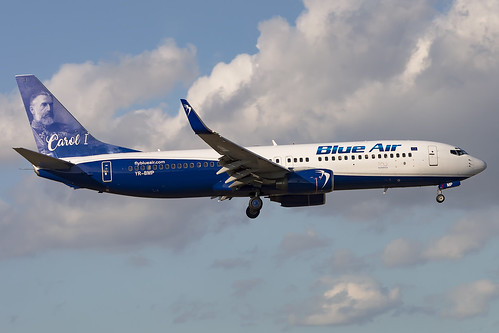 B738 Blue Air | by Enrico Bonaga