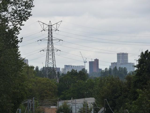 Cross City Line from Cotteridge Park - Five Ways Skyline