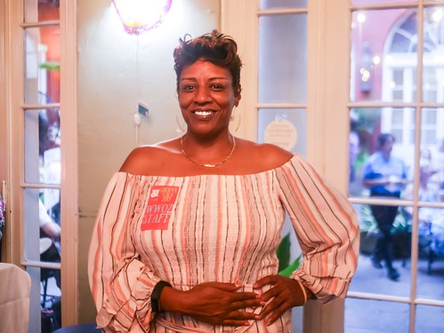 Monica Landry at the Groove Gala - Sep. 5, 2019. Photo by Katherine Johnson.