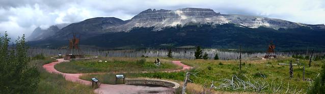 Black feet Indians, Glacier National Park 560