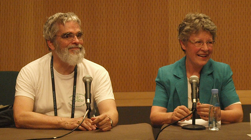 Jocelyn Bell Burnell and Brother Guy Consolmagno