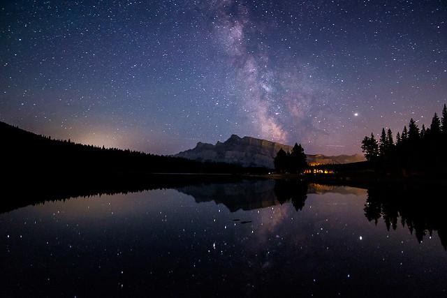 Milky Way - Two Jack Lake-3