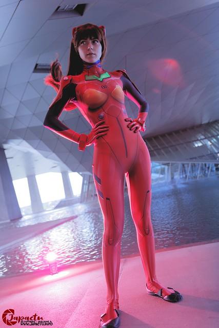 Asuka Langley Sonryu de Neon Genisis Evangelion