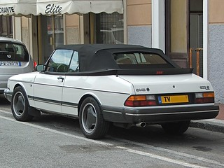 Saab 900 S Cabrio - 1992