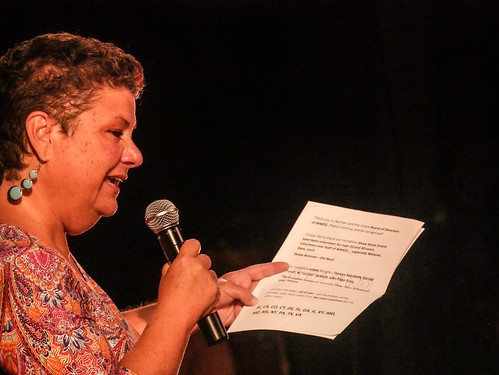 Beth Arroyo Utterback at the Groove Gala - Sep. 5, 2019. Photo by Katherine Johnson.