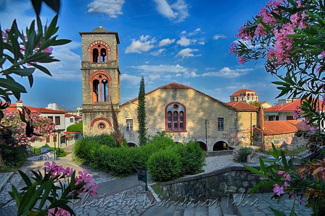 Ιερός Ναός Παναγίας Φανερωμένης (Γενεσίου της Θεοτόκου)                                                                                                       Church of Our Lady of Faneromeni (The Birth of the Virgin)