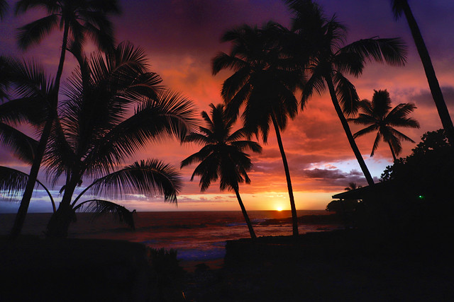 Hawai'i sunset