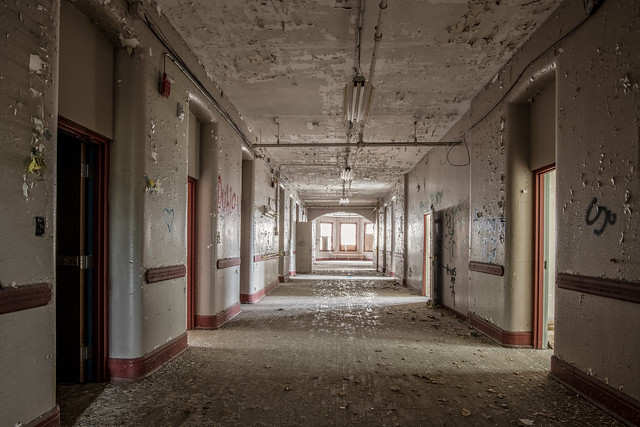 Hallway in Traverse City Commons